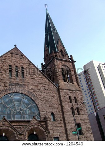 A Lutheran Church in St. Paul Minnesota