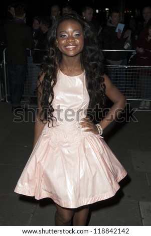 A.M.E arriving for the Cosmopolitan Ultimate Women of the Year Awards , Victoria & Albert Museum, London. 30/10/2012 Picture by: Simon Burchell - stock photo