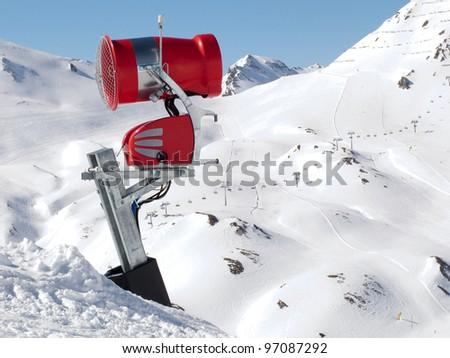 how to make a snow machine