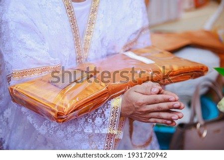 A man attending the ordination ceremony Stock photo ©