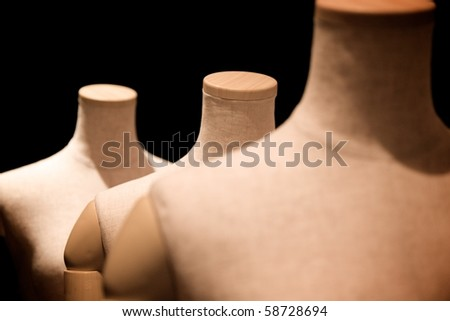 A mannequin