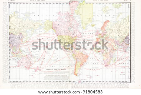 a map of the world from...