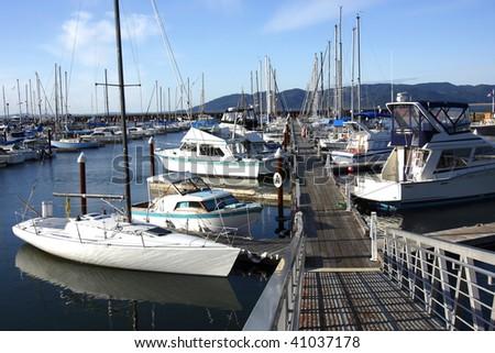 A Marina in Astoria Oregon