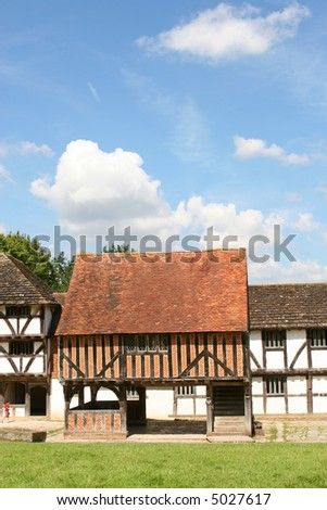 A market hall from Titchfield Hampshire, England.