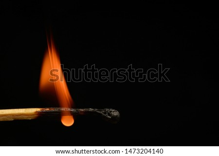A match is a tool for starting a fire. Typically, matches are made of small wooden sticks or stiff paper