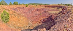A material quarry near the Washout Dam north of Drake Arizona in the Prescott National Forest. The quarry was most likely used for roadbed material during the construction of State Route 89.