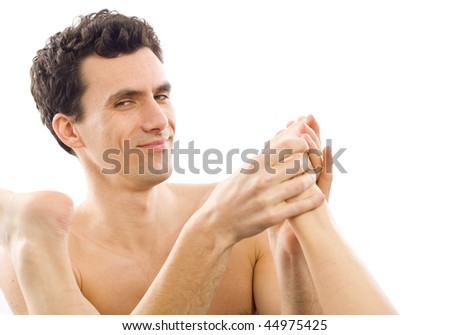 stock photo a mature man massaging his girlfriend s wife s feet smiling with a grate satisfaction 44975425 Adults Obesity by Sex, New Mexico 2008. ::chart   missing::