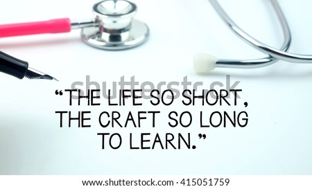 "Medical Quotes About Life Adorable Royaltyfree A Medical Quotes Said ""keep Your Head… 416573236"