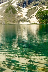 A mesmerizing view of a beautiful Katora lake, Kumrat Valley