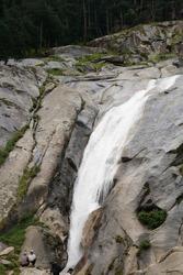 A mesmerizing view of a beautiful landscape, aterfall of Kumrat Valley