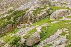 A mesmerizing view of a beautiful rocky mountain, Kumrat Valley