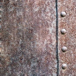 a metal texture and rivet