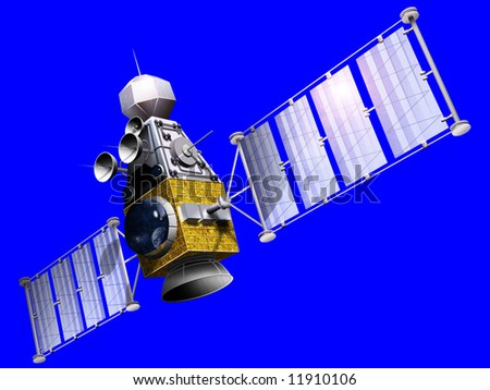 A military satellite is an artificial satellite used for a military purpose, often for gathering intelligence, as a communications satellite for military purposes, or as a military weapon.