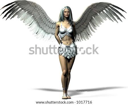 A modern angel