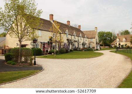 A modern housing estate