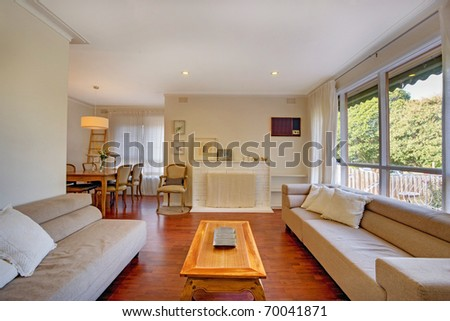 A Modern Living Room #70041871