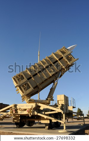 A modern mobile surface-to-air missile (SAM) defense system used by the US and its allies, primarily used as an anti-ballistic missile