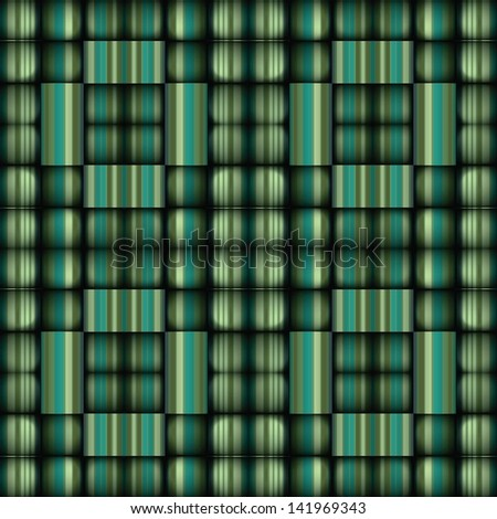 A modernized surface with vibrant greens Stockfoto ©