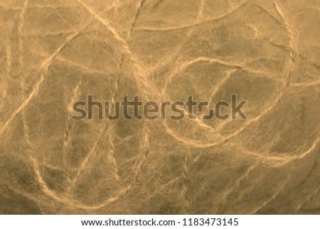 A mohair yarn texture