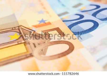 a money. euro. a background.