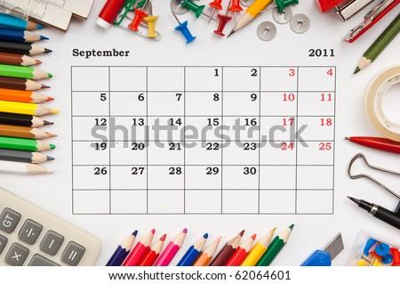 calendar september 2011. calendar September 2011.