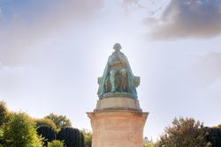 A Monument To Lamarck - Creator of evolutionary theory of Lamarckism. Paris