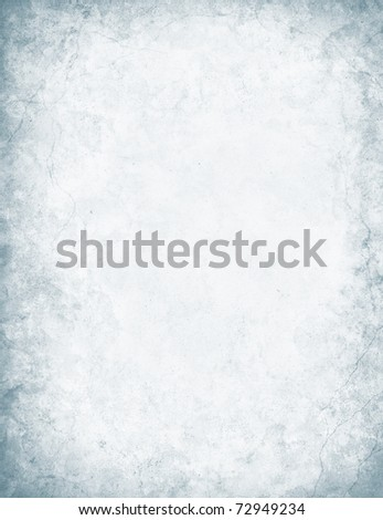 A mottled and textured white paper background with a grunge edge vignette and cracks.