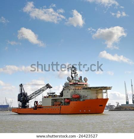 a multi-purpose offshore support vessel