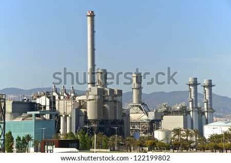 A new gas power station in the north of Barcelona guarantees the energy supply of the metropolis