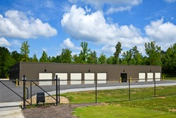 A New Secure Self Storage Building with Gated Access