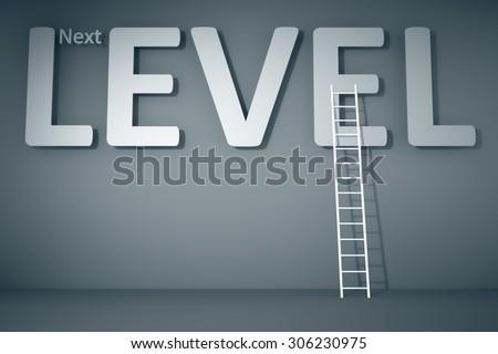 A next level business concept image