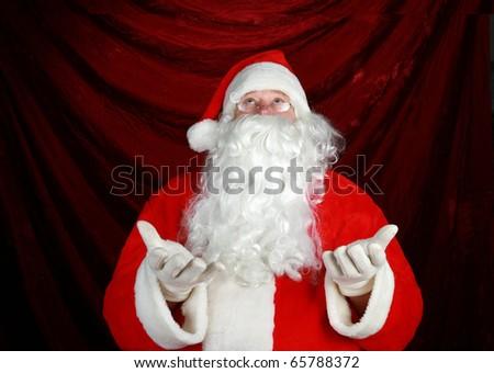 a nice classic portrait of Santa Claus