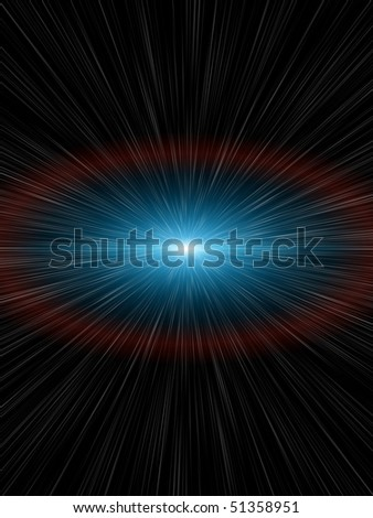 Stock Photo a nice light speed background