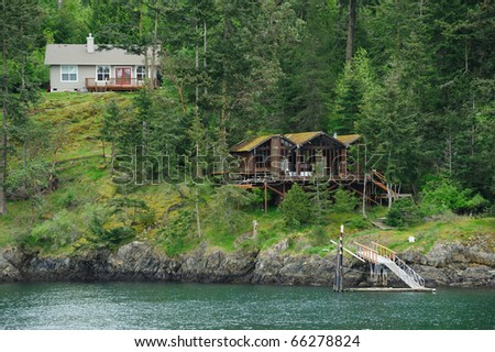 A nice seaside cottage for family relaxing in pender island, gulf islands national park, british columbia, canada