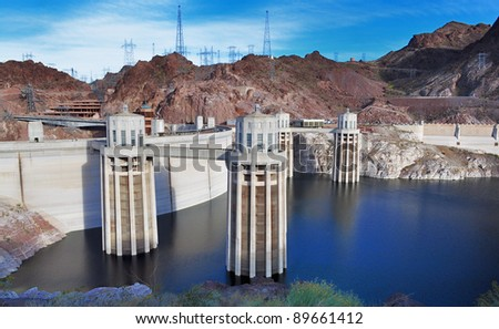 A nice view of Hoover Dam
