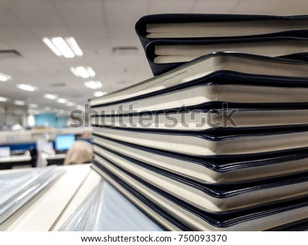 Anotebook(notepad, writing pad, drawing pad, legal pad) is a small book or binder of paper pages, often ruled, used for purposes such as recording notes #750093370