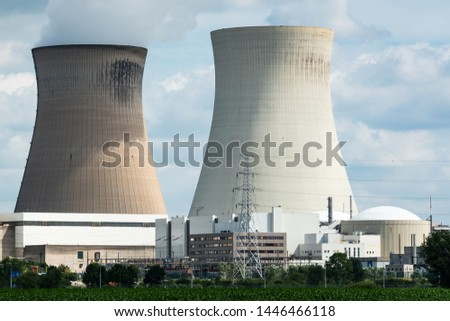 A nuclear power plant in Antwerp, Belgium.