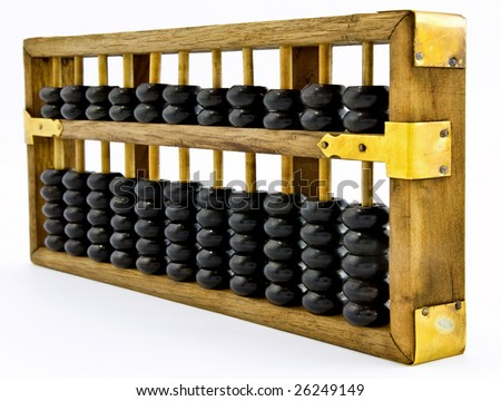 a old abacus