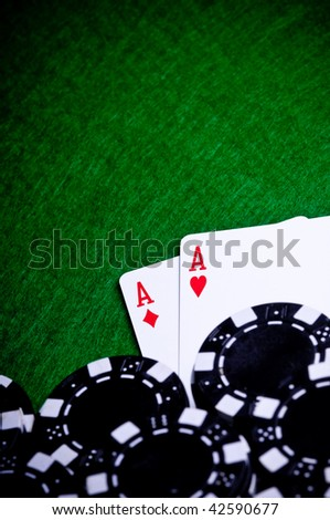 A pair of Aces, a great poker opening