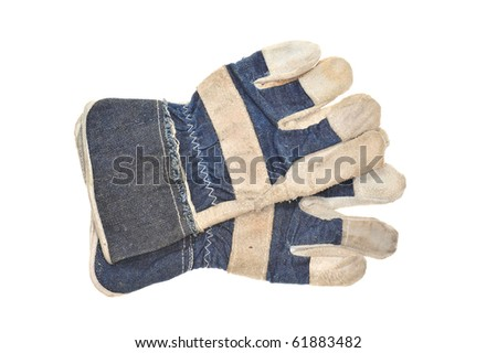 A Pair Of  Gloves For Heavy Duty Job