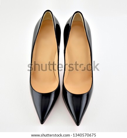 A pair of high heels shoes