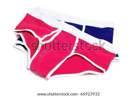 a pair of men's briefs isolated on a white background