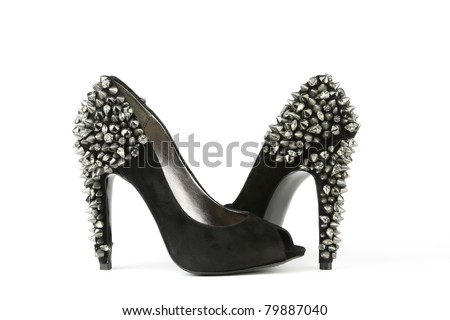 Black and white womens dress shoes | Picture Papers