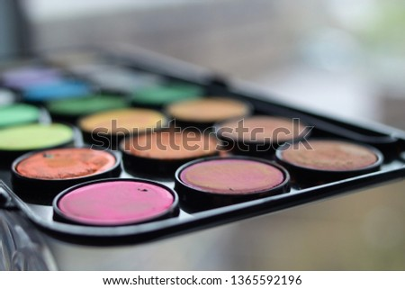 A palette of water colors #1365592196