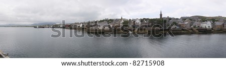 A Panorama of Stromness, Orkney, UK