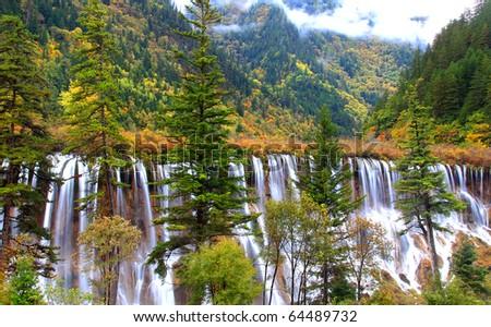 A Paradise on Earth - Jiuzhaigou
