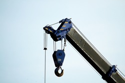 A part of crane truck for construction