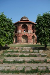 A Pathway to purana quila fort