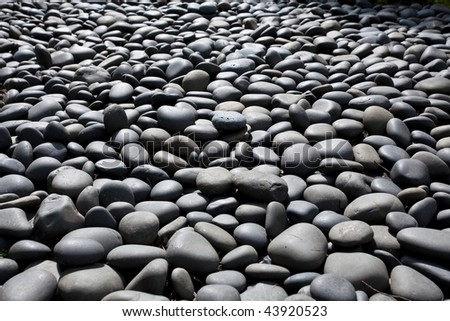 A pebble is a clast of rock with a particle size of 4 to 64 millimeters based on the Krumbein phi scale of sedimentology. It is generally considered to be larger than gravel and smaller than cobble.