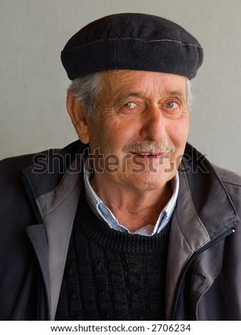 A pensioner - stock photo